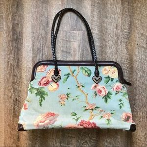 Brighton floral travel bag
